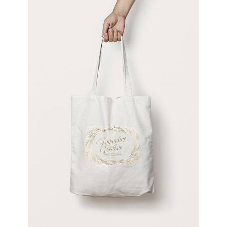 Tote-Bag branchage Mariage d'hiver
